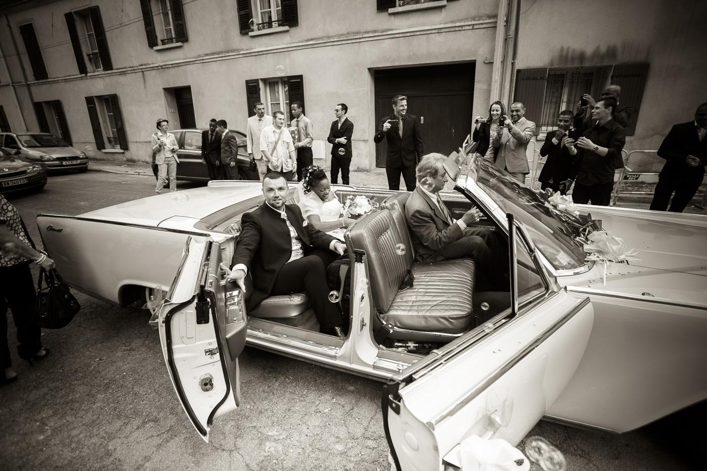 Belle voiture pour mariage